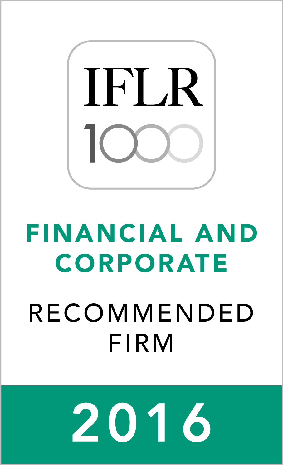 IFLR1000 (2016) Recommended Firm Rosette_2