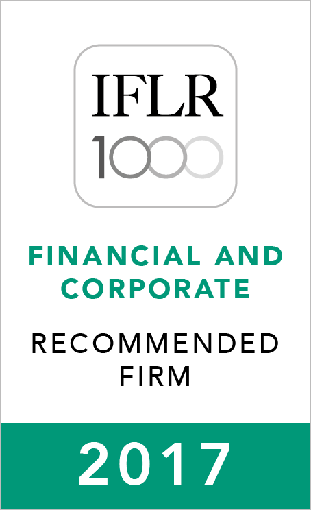 IFLR1000 (2017) Recommended Firm Rosette_2